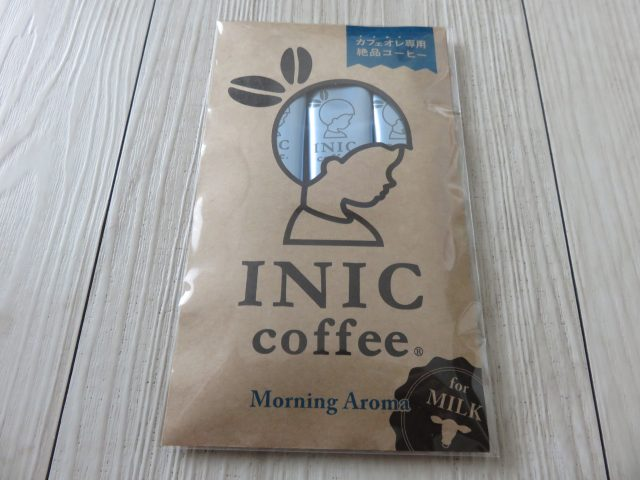 INIC coffee Morning Aroma パッケージ