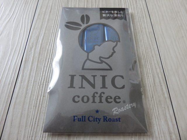 INIC Roastery Full City Roast パッケージ