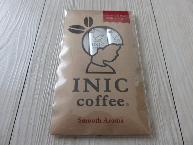 INIC coffee Smooth Aroma パッケージ